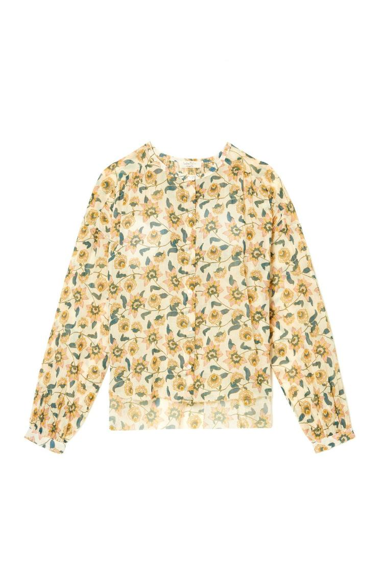 Blouse Jay Cream Flowers