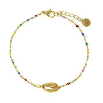 Bracelet outer shell multicolore