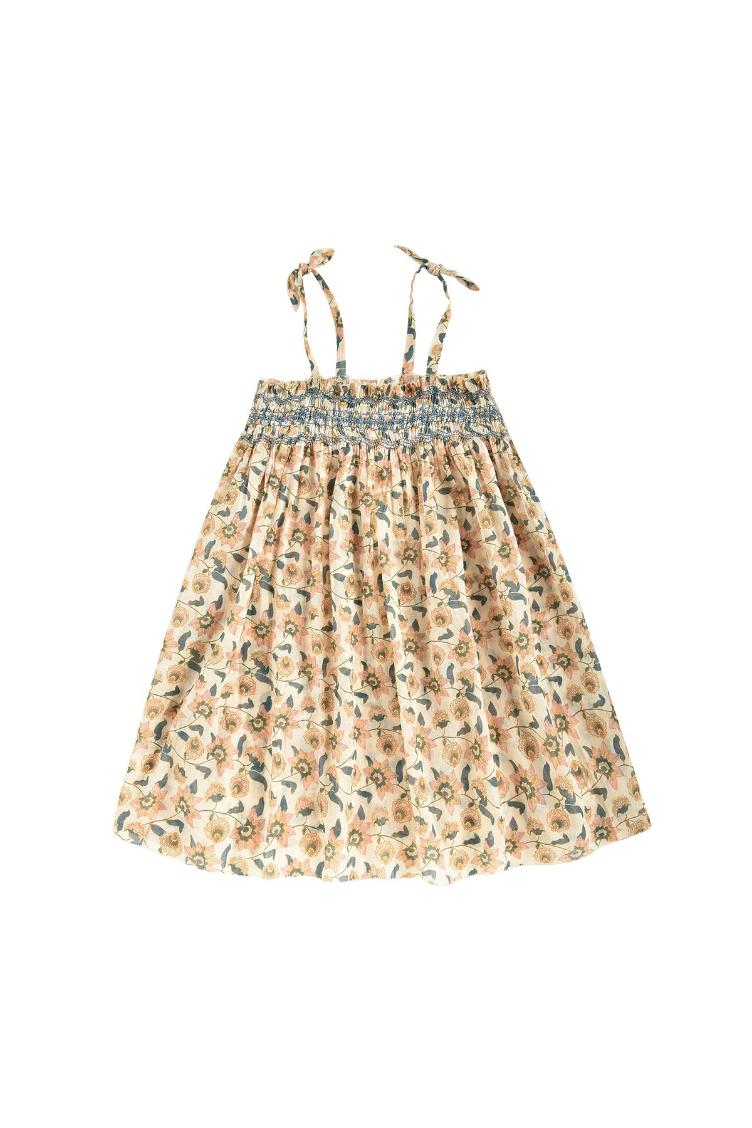 Dress Marceline cream flowers