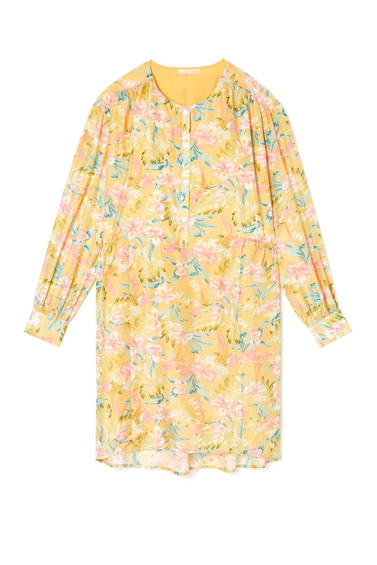 Dress wara soft honey parrots