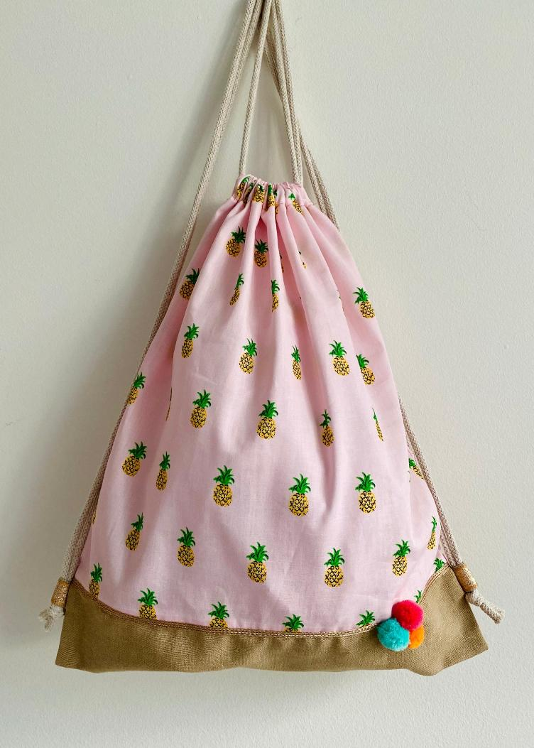 Gymbag pineapple rose