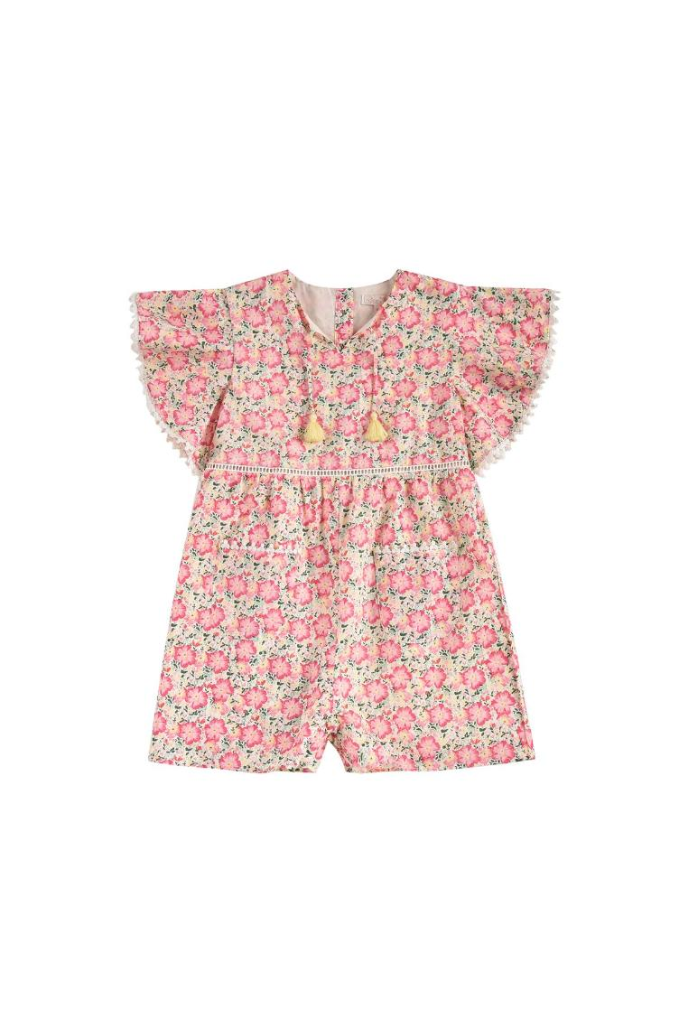 Jumpsuit Mayalia pink meadow