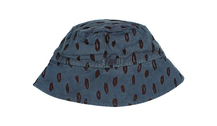 kids animal hat blue night