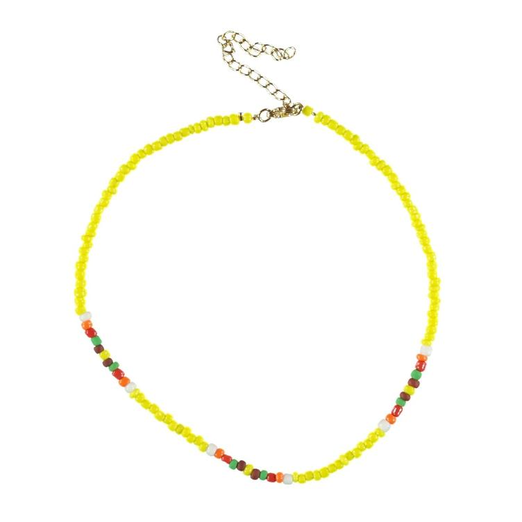 necklace yellow