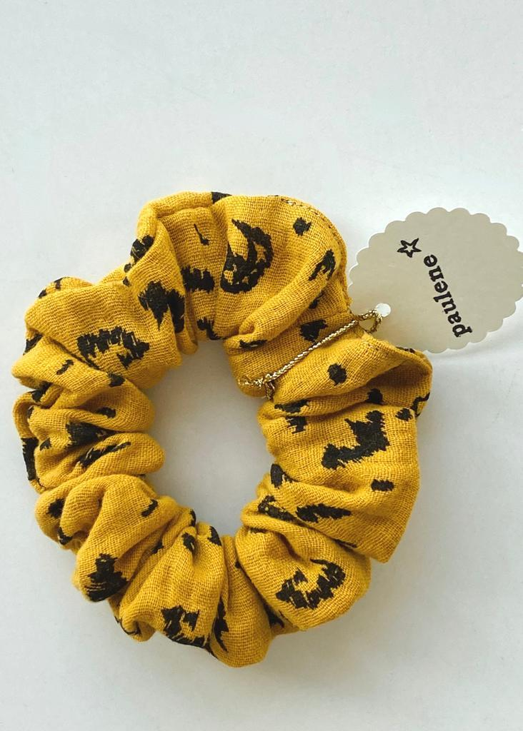 Scrunchie leo yellow