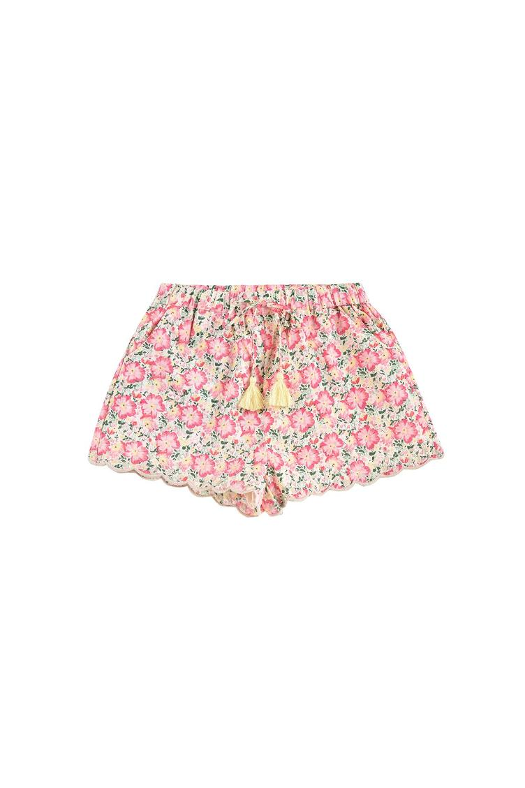 Shorts Vallaloid pink meadow