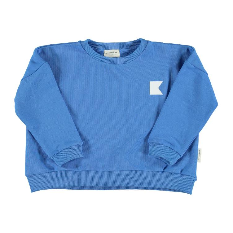Sweater blue flag