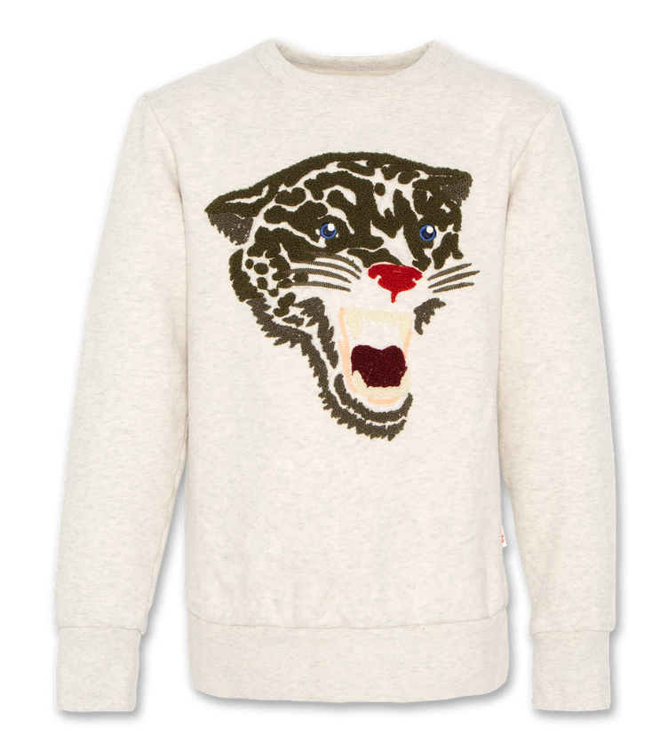 sweater leopard oyster